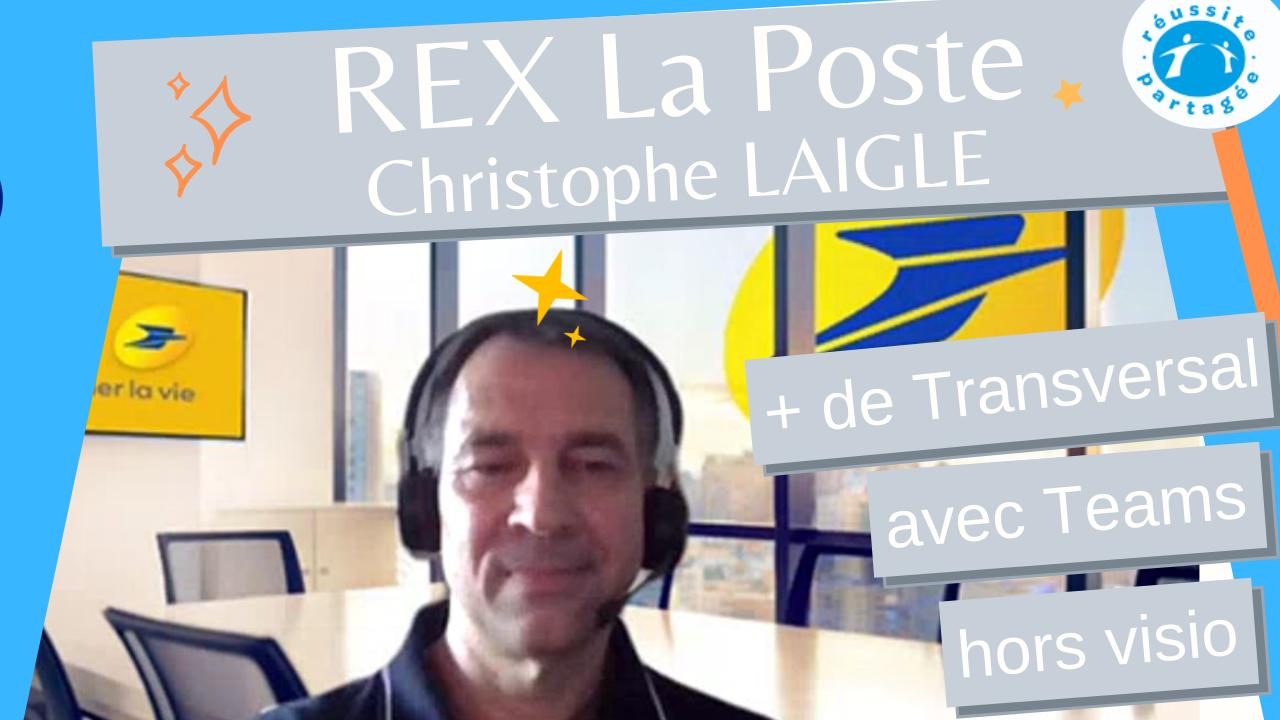 REX Christophe Laigle La Poste Apéro Libérateur - Transversalité